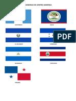 Banderas de Centro América