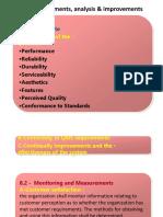 8 – Measurements, Analysis & Improvements