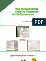 La Forma Farmacéutica en El Registro Sanitario de PF