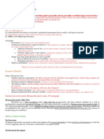 Report on Testing_summary Outline