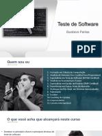 Teste de Software Bonus Gustavo Farias