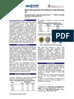 Estudo Das Propriedades Físico-químicas Dos Fluídos de Corte Aplicados