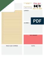 Planificador Diario 2