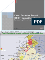 Flood Disaster Report Of Khyberpakhtunkhwa