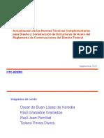 Reglamento Construcciones Distrito Federal Resumen