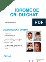 Sindrome de Cri Du Chat