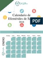 Calendario de Efemérides de Salud