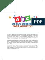 Abcn Deberes de Los Adultos