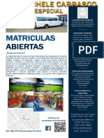 MATRICULAS FOLLETO