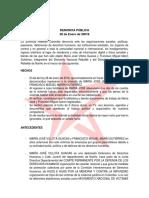 DENUNCIA PÚBLICA Juventud Rebelde