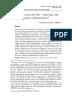 FELTRAN, Gabriel de Santis. a Categoria Como Intervalo – a Diferença Entre Essência e Desconstrução