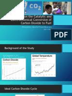 Literature Review CO2 Conversions