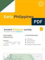 Early Phil History Muslims PreHispanic SE Asia