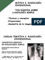 Radiografia Convencional. Generalidades