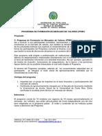 Programa Formacion Mercado Valores Pfmv