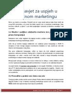 101 Savjet Za Uspjeh u Mrežnom Marketingu