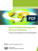 Industrial Biotechnology and Biomass Utilization