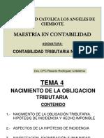 Clases Tema 4 Obligacion Tributaria
