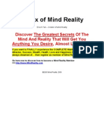 Matrixul Realitatii - Matrix of Mind Reality - PDF