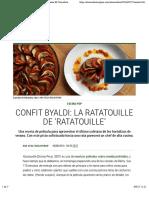 Confit byaldi