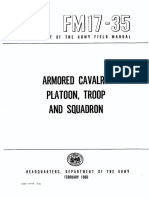 FM17-35 Armored Cavalry Platoon, Troop and Squadron