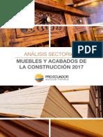 Análisis Sectorial Muebles y Elaborados 20171