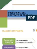 Suspension y Extincion Del Contrato de Trabajo - Copia
