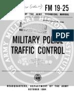 FM19-25 Military Police Traffic Control