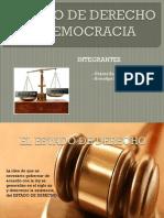 Estado de Derecho y Democracia
