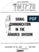 FM17-70 Signal Communication in the Armored Division 1950