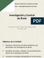Investigacion y Control de Brote