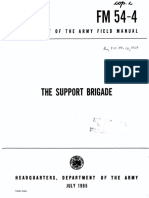FM54-4 The Support Brigade 1965
