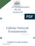 Lecture07- Cellular Fundamentals -III