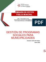 4. Seminario Getsión Publica Municipal