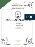Microfinanzas Word Informe