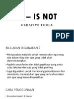 IS – IS NOT