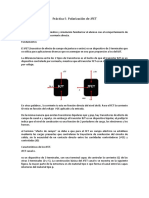 Práctica 9. Polarización de JFET