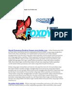 Masuk Permainan Roulette Dengan Www.foxdyn.com