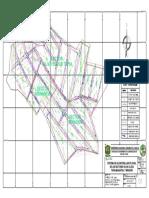 Plano en Planta de Sistema de Alcantarillado Pluvial de Los Tres Sectores