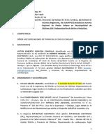 Nueva Demanda - Caso Saenz Peña - Bertha - 26-10-2016 - Modifico - Rojo