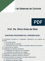Aula 01 - Apresentação de Modelagem de Sistemas de Controle
