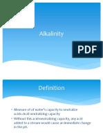 13 Alkalinity