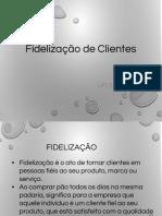 UFCD 0355- Fidelização  de Clientes