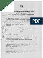 Pleno Distrital Constitucional Callao