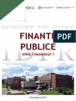 2017 Finante Publice Suport Curs IDFR