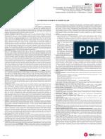 Condizioni Generali Contratto Tariffario
