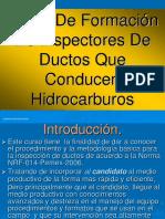 Curso Para Inspectores de Ductos