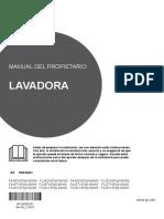 Manual Lavadora Lg f4j6ty8s 5108