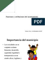8603925 Funciones y Atribuciones Del Ayuntamiento