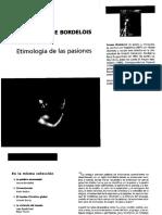Bordelois Ivonne - Etimologia de Las Pasiones